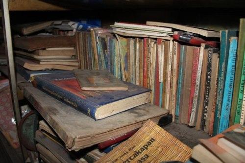 buku-buku berayap