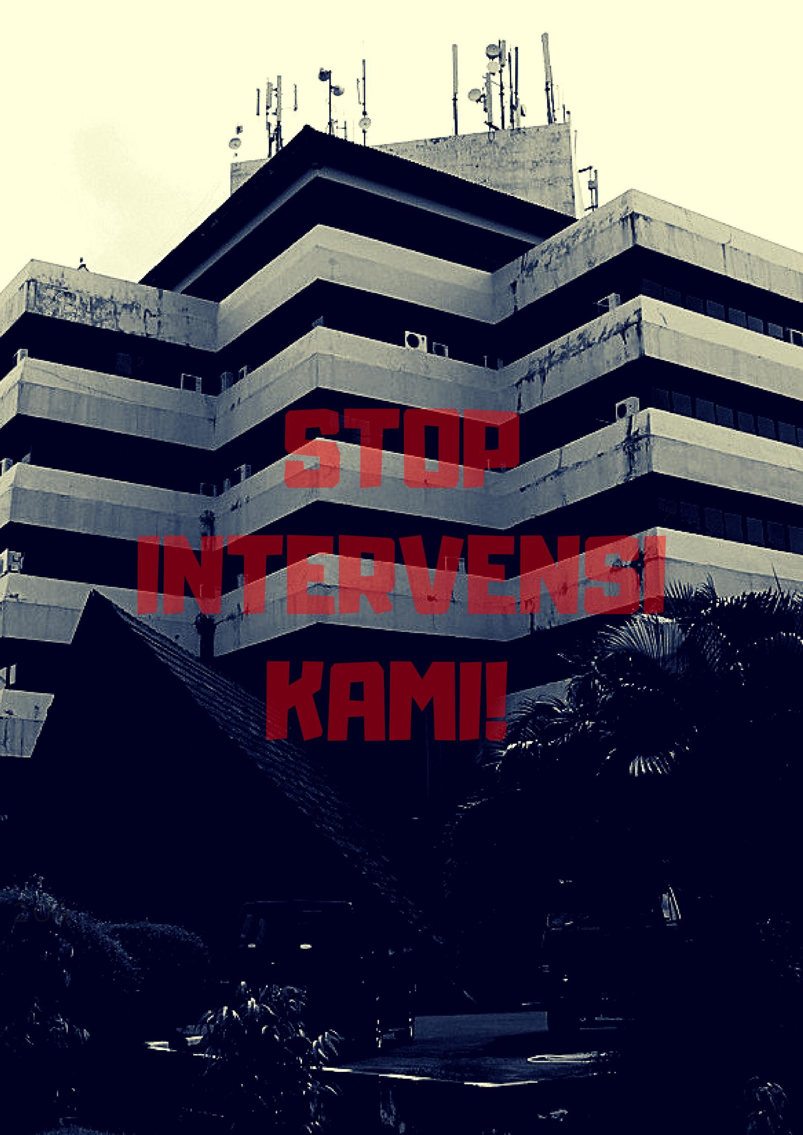 hentikan intervensi